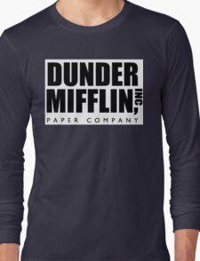 DUNDER MIFFLIN INC Long Sleeve T-Shirt