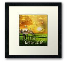 1916-2016 GPO Dublin Framed Print