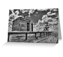 Once was a Station.... Greeting Card