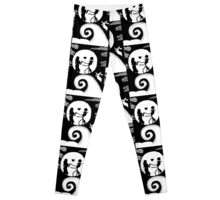 Jack and Sally in the night Leggings