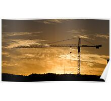 Golden Gate......Crane Poster