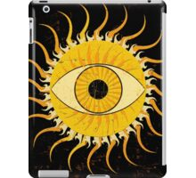 All-seeing sun iPad Case/Skin