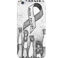 "De""feet"" Cancer iPhone Case/Skin"