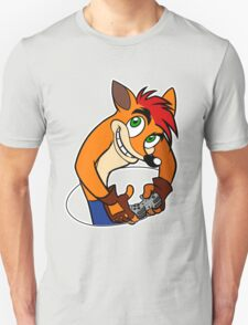 Retro Gamer Crash Bandicoot T-Shirt