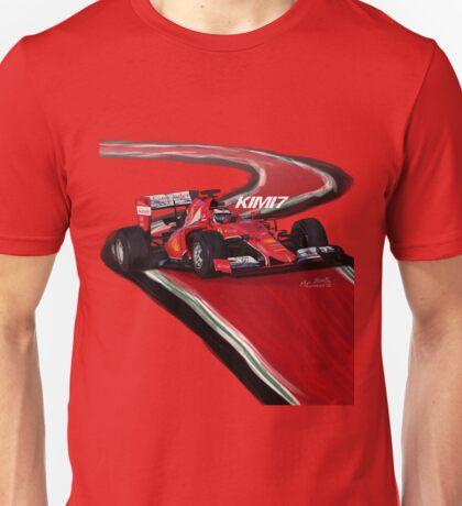 Ferrari SF15-T - Kimi7 Unisex T-Shirt