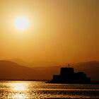 Bourtzi castle, Nafplion by Nathan T