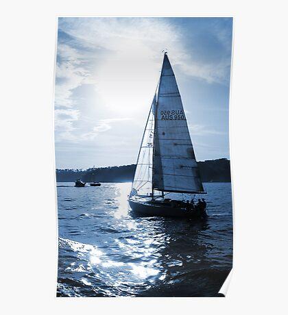 Blue Sails Poster