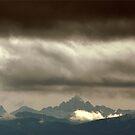 Sturm über Allgaeuer Alpen  (Hochvogel) by Erwin G. Kotzab