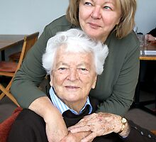 Mum and Nanna by Ainslie Fraser