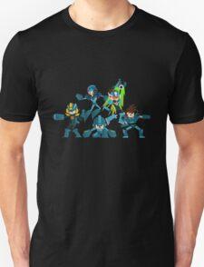 Mega Mans! Unisex T-Shirt