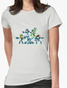 Mega Mans! Womens Fitted T-Shirt