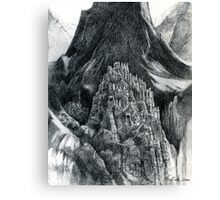 the Mountain of mystery Canvas Print