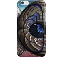 Gated Stair Case Orbs iPhone Case/Skin