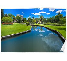Queens Gardens, Perth Poster
