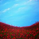 poppies and noon moon 2 by imajica