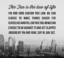 The Tao is the Law of Life by Zenology Arts