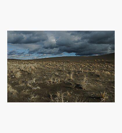 Desert Wind  & Rain Photographic Print
