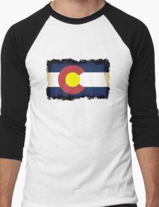 Colorado flag in Grunge T-Shirt