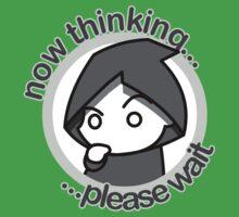 Thinking... - bn&txt by japu