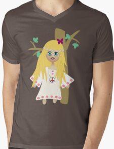Hippie Mens V-Neck T-Shirt