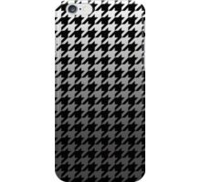 Dogtooth / Houndstooth Gradient Grey iPhone Case/Skin