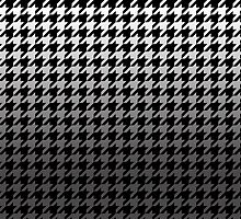 Dogtooth / Houndstooth Gradient Grey by connor95