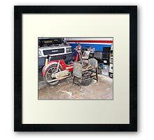 """"""" Garage."""" Framed Print"""