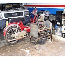 """ Garage."" Photographic Print"