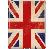 Britain Flag British Vintage Retro iPad Case/Skin