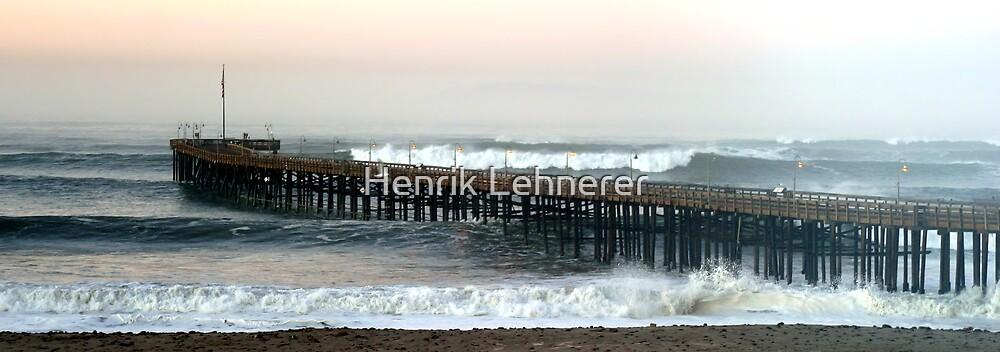 Ventura Ocean Waves by Henrik Lehnerer