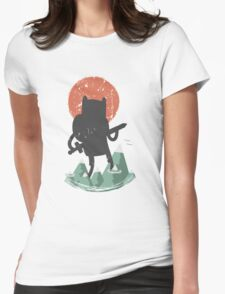Fin The Giant  Womens Fitted T-Shirt