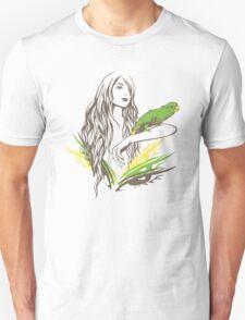 Parrot Girl - 1 Unisex T-Shirt