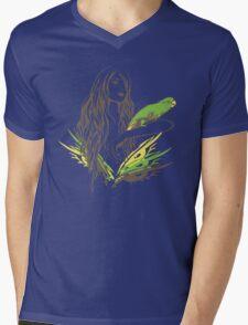 Parrot Girl - 1 Mens V-Neck T-Shirt