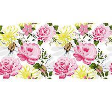 Elegance floral pattern. Spring mood. Photographic Print