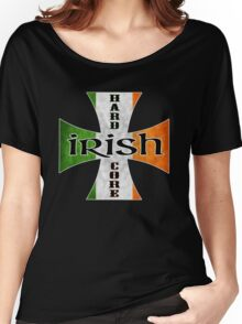 irish hardcore flag Women's Relaxed Fit T-Shirt