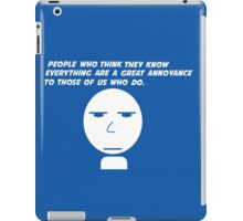 Annoyance iPad Case/Skin