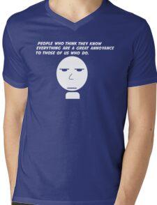 Annoyance Mens V-Neck T-Shirt