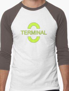 Green Terminal Men's Baseball ¾ T-Shirt