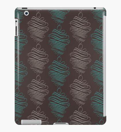 Luxury ornamental wallpaper iPad Case/Skin