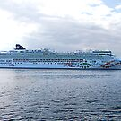 Norwegian Pearl by George Cousins