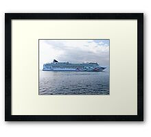 Norwegian Pearl Framed Print