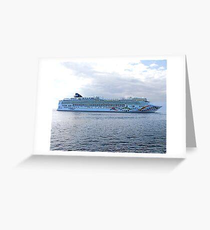 Norwegian Pearl Greeting Card