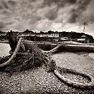 Charlestown Harbour, Cornwall by Paul Woloschuk