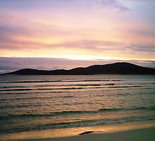 Gentle Glow - Hebridean Sunset by BlueMoonRose