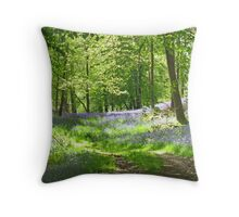 Woodland Spring Throw Pillow