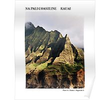 Na Pali Coastline Poster