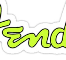 Green Fender  Sticker