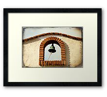 Run To The Border Framed Print