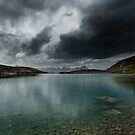 stormy lake by peterwey