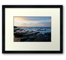 Mooloolaba Evening Framed Print